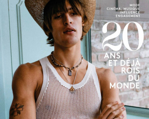 Parker van Noord covers Vogue Hommes Paris Spring Summer 2020 by Jack Pierson
