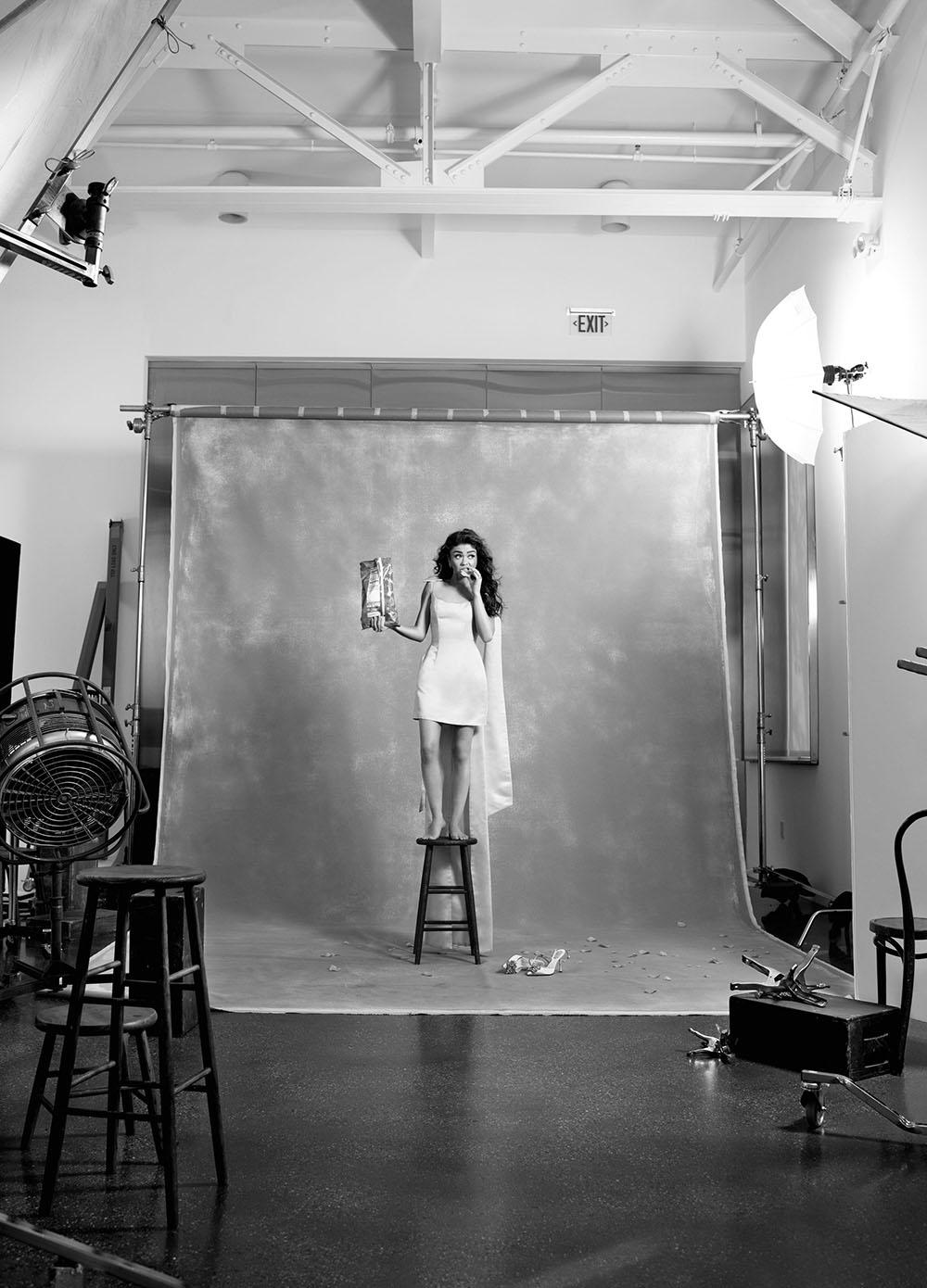 Sarah Hyland covers Cosmopolitan US May 2020 by Kerry Hallihan