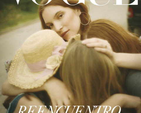 Sarita Jaccard covers Vogue Latin America May June 2020 by Tom Craig