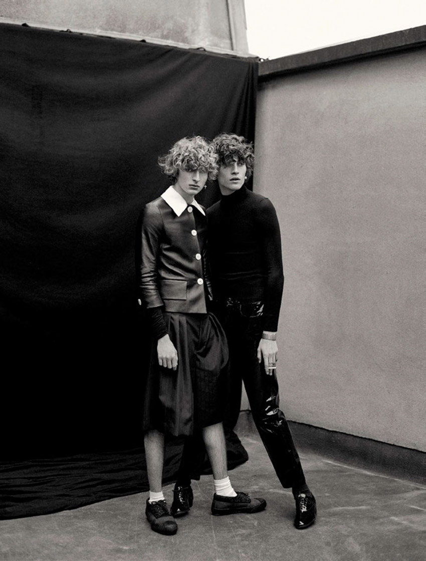 ''Soulmates'' by Dominique Issermann for Numéro Homme Spring Summer 2020