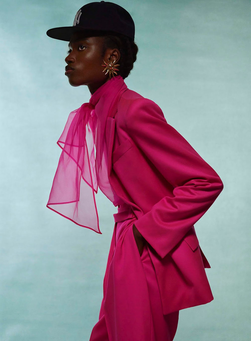 ''Time Warp'' by Royal Gilbert for Elle Canada May 2020