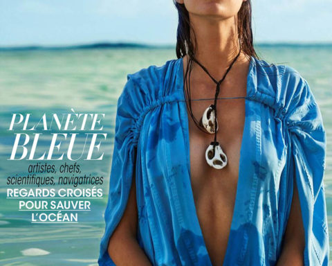 Vanessa Moody covers Madame Figaro May 22nd, 2020 by David Roemer