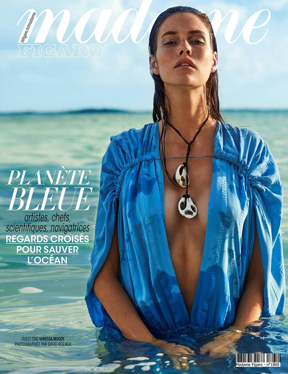 Vanessa Moody covers Madame Figaro May 22nd, 2020 by David Roemer
