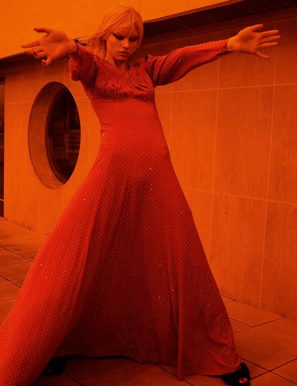 Vilma Sjöberg by Emma Summerton for Vogue Germany May 2020