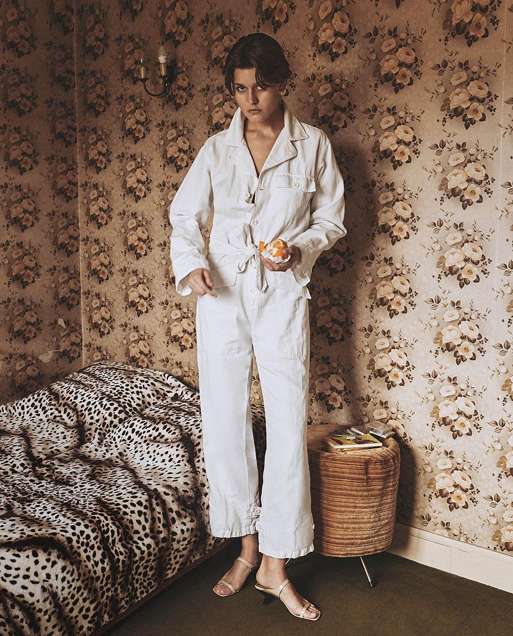 Vivienne Rohner by Van Mossevelde + N for Vogue Russia May 2020