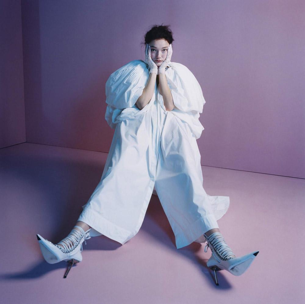 Yumi Lambert by Karen Collins for Elle UK May 2020