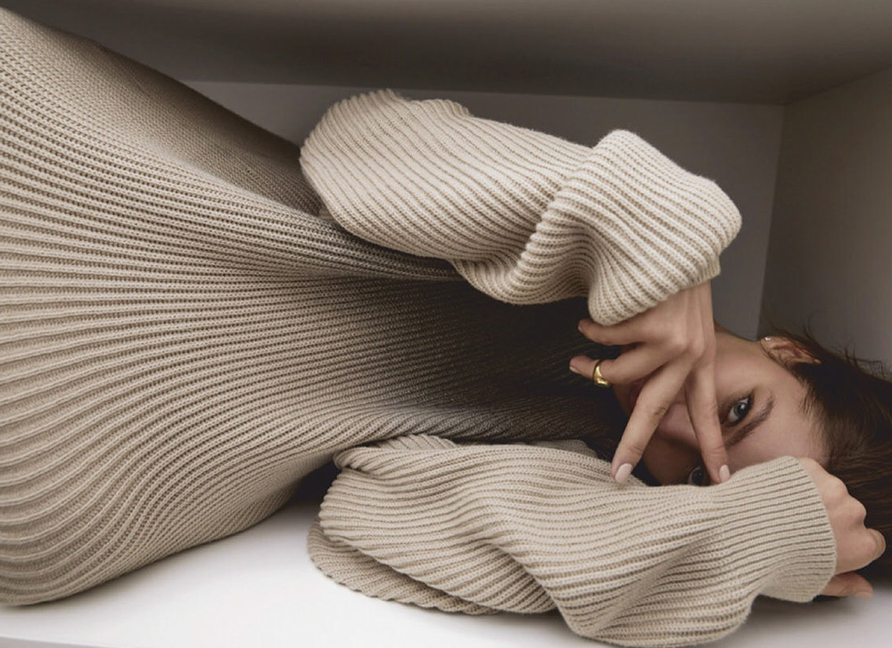Alesya Kaf covers Elle Russia July August 2020 by Nick Nemets