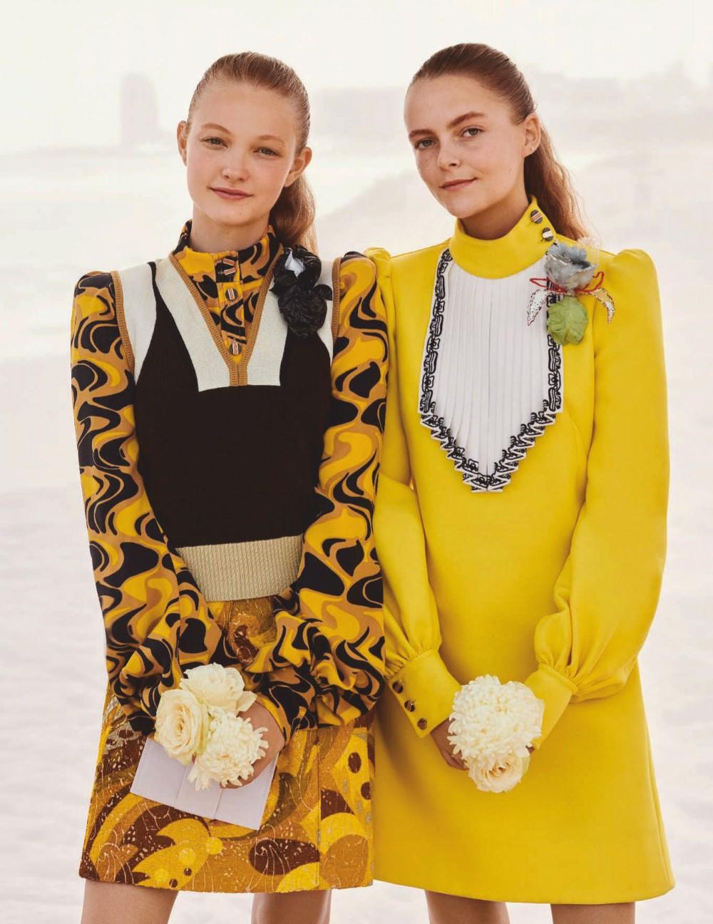 Andrés Velencoso Segura, Karolina Kurkova and others by Giampaolo Sgura for Vogue Germany June 2020
