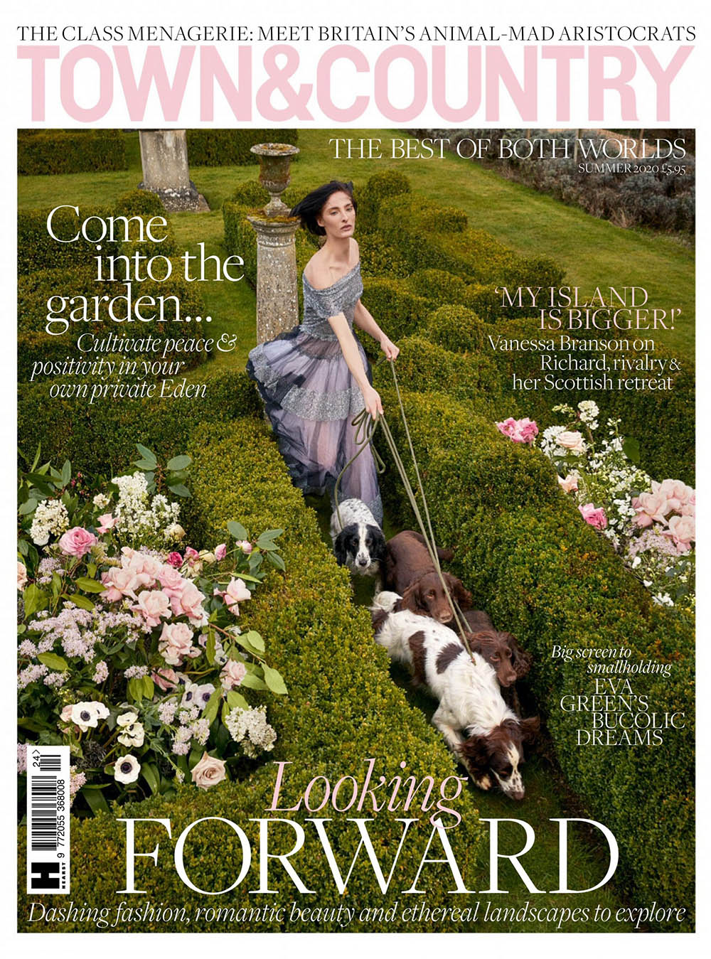 Annie Tice covers Town & Country UK Summer 2020 by Richard Phibbs