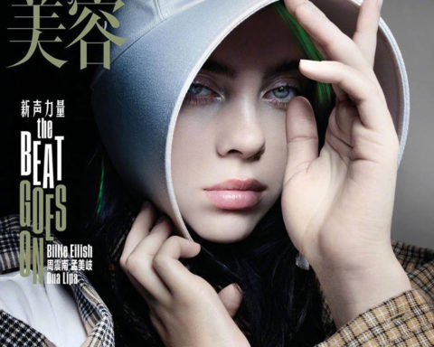 Billie Eilish covers Vogue China June 2020 by Nick Knight