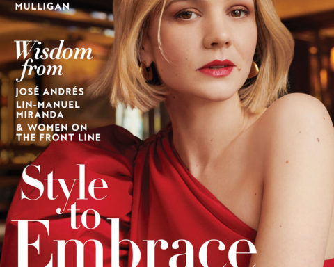 Carey Mulligan covers InStyle US June 2020 by Horst Diekgerdes