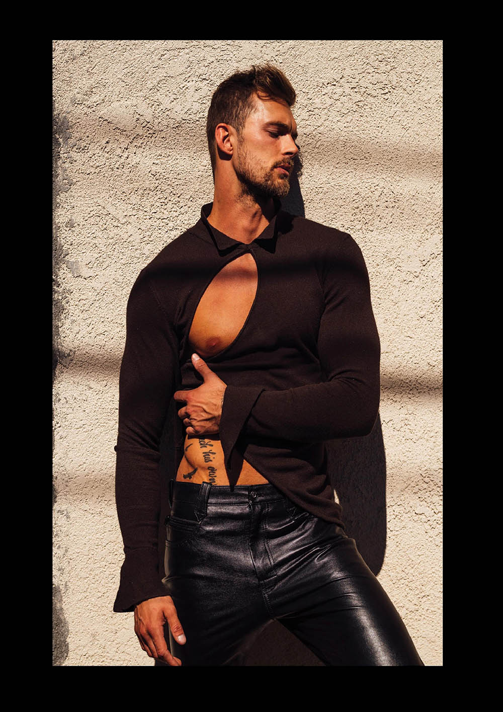 Christian Hogue by Taylor Miller for Attitude Magazine Summer 2020