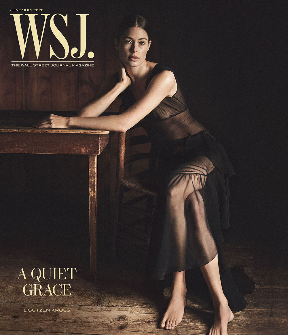 Doutzen Kroes covers WSJ. Magazine June July 2020 by Annemarieke van Drimmelen
