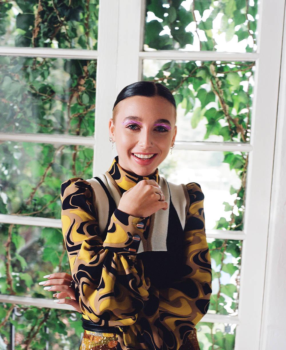 Emma Chamberlain covers Allure US June July 2020 by Lindsay Ellary