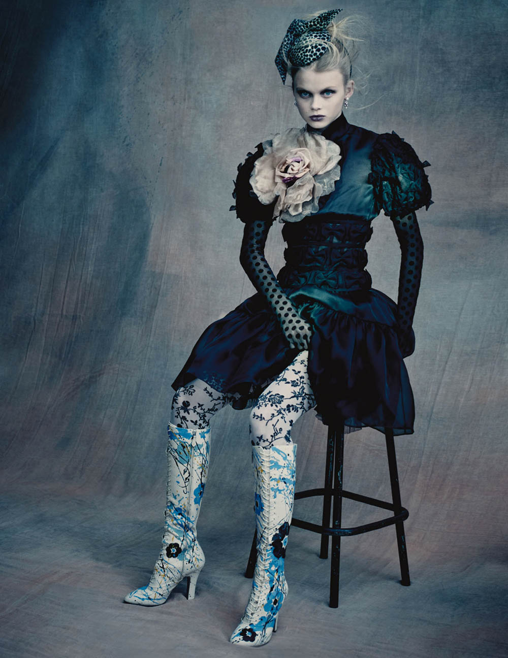 Evie Harris and Tess McMillan by Paolo Roversi for British Vogue June 2020