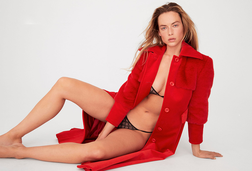 Hannah Ferguson by Carin Backoff for Elle US Summer 2020