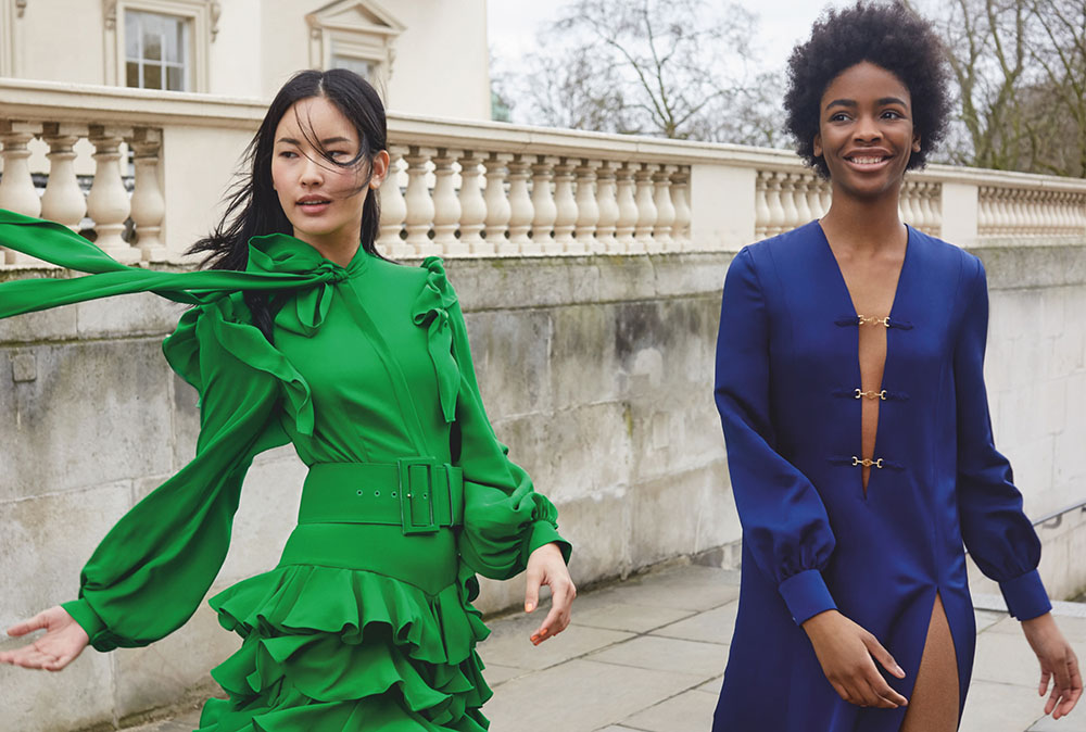 Hyunjoo Hwang and Melody Lulu-Briggs by Agata Pospieszynska for Harper's Bazaar UK June 2020