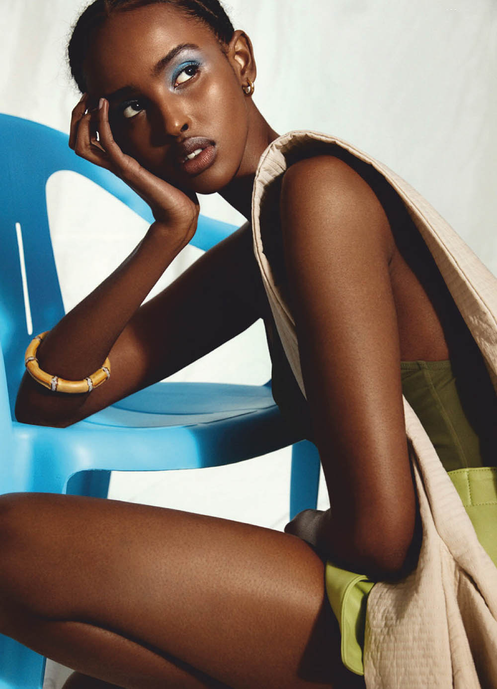 Ifrah Qasim covers Elle Sweden June 2020 by Sara Bille