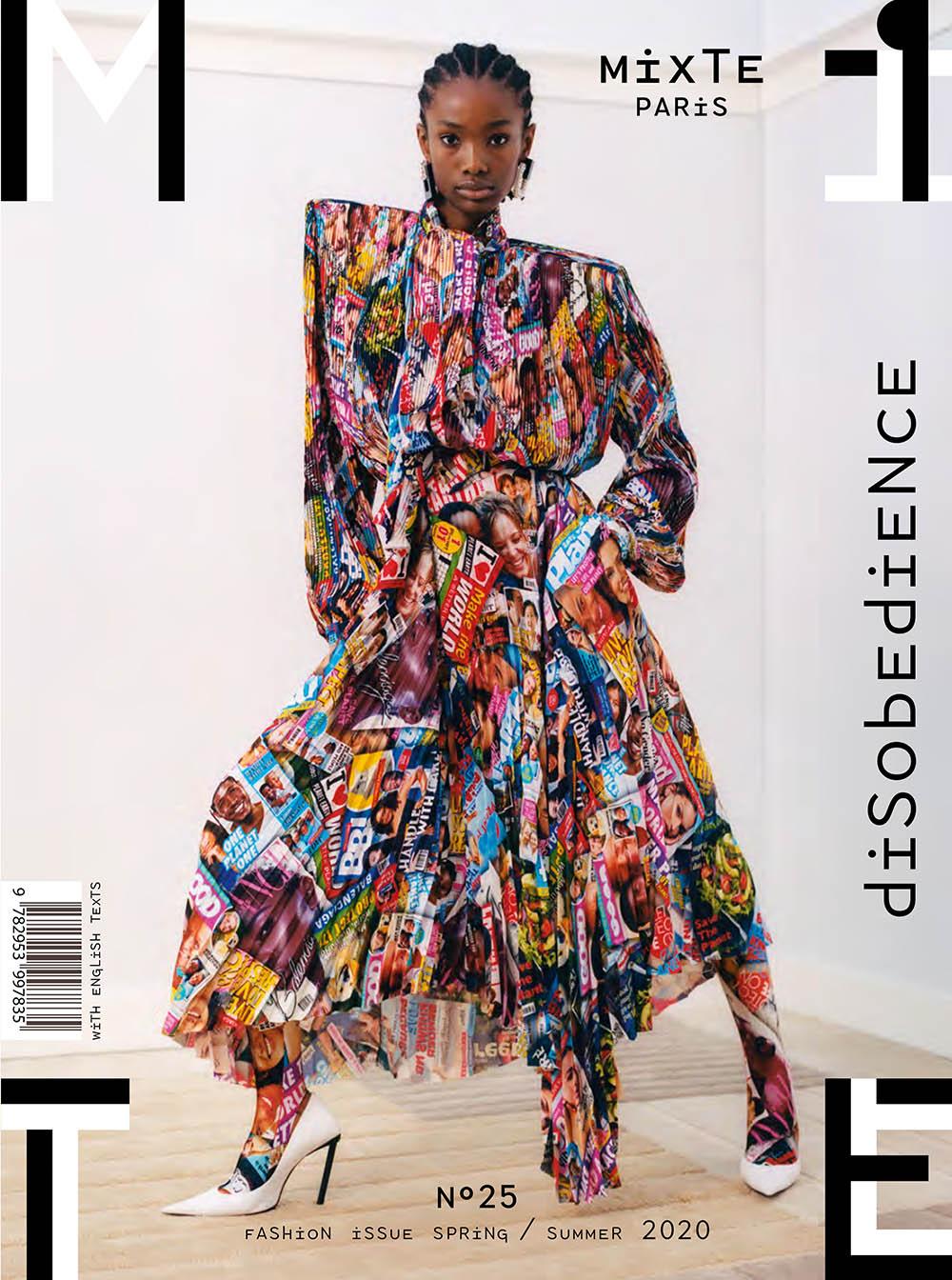 Imari Karanja covers Mixte Magazine Spring Summer 2020 by Thomas Cooksey