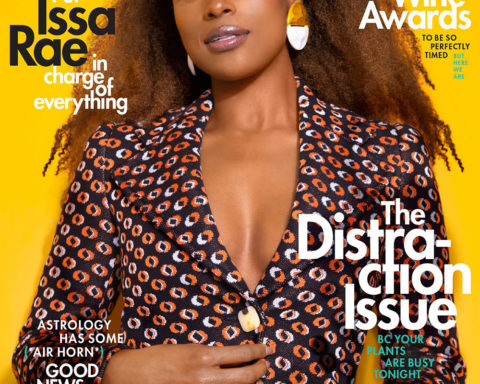 Issa Rae covers Cosmopolitan US June 2020 by Ruth Ossai
