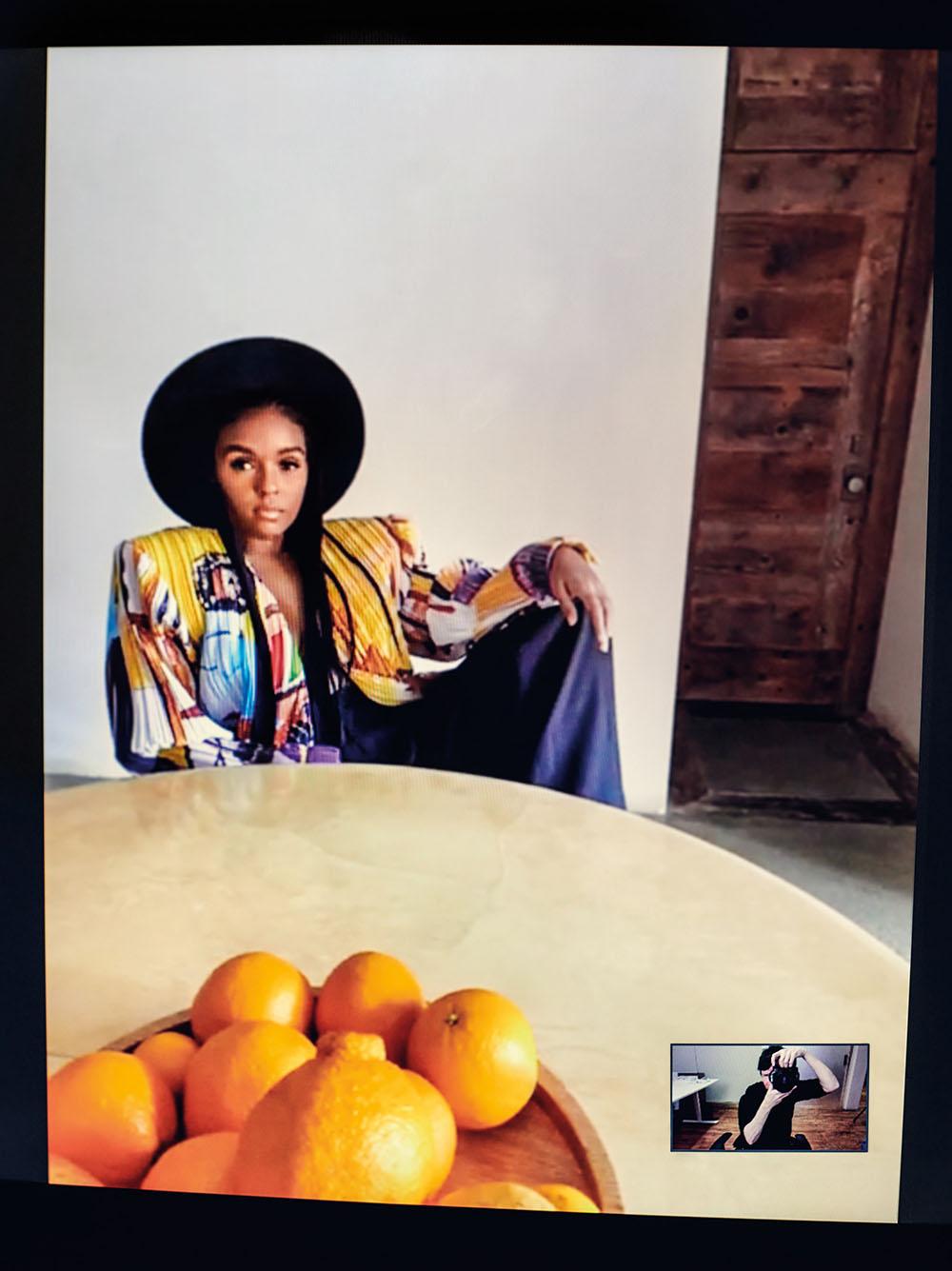 Janelle Monáe covers Vanity Fair June 2020 by Collier Schorr