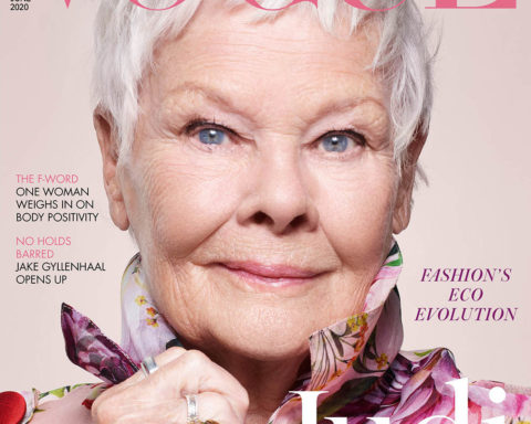 Judi Dench covers British Vogue June 2020 by Nick Knight