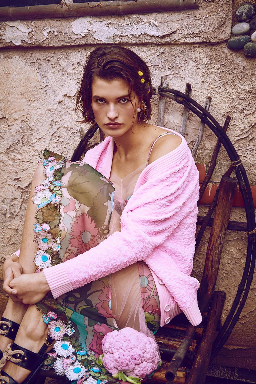 Julia van Os covers Harper's Bazaar Australia June July 2020 by Regan Cameron