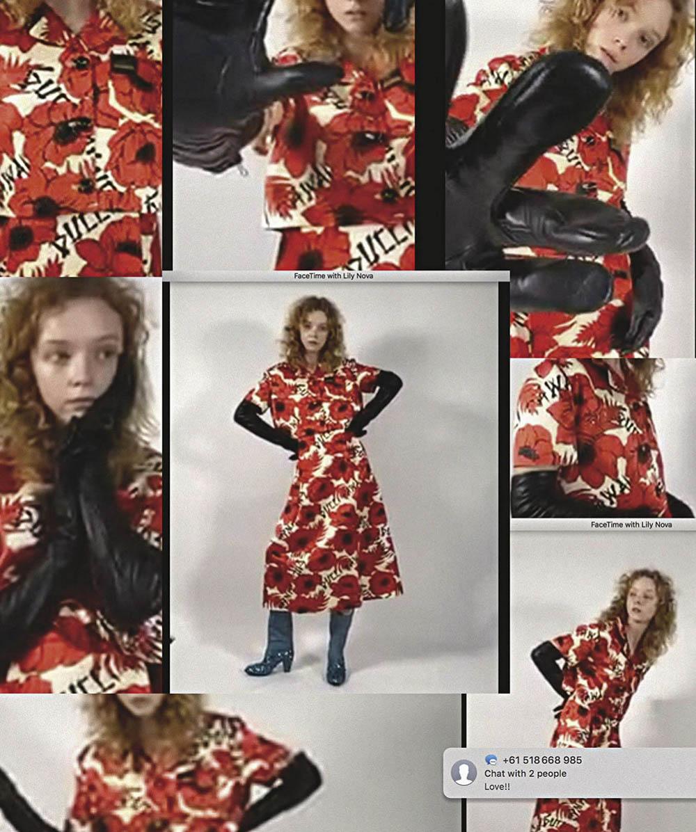 Lily Nova by Byron Spencer for Vogue Australia June July 2020