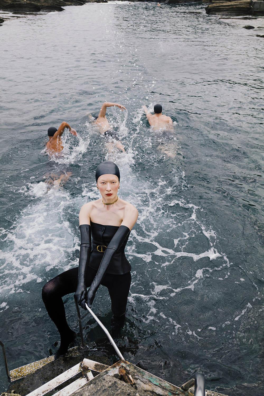 Liu Hsin Yu covers Vogue Taiwan June 2020 by Zhong Lin