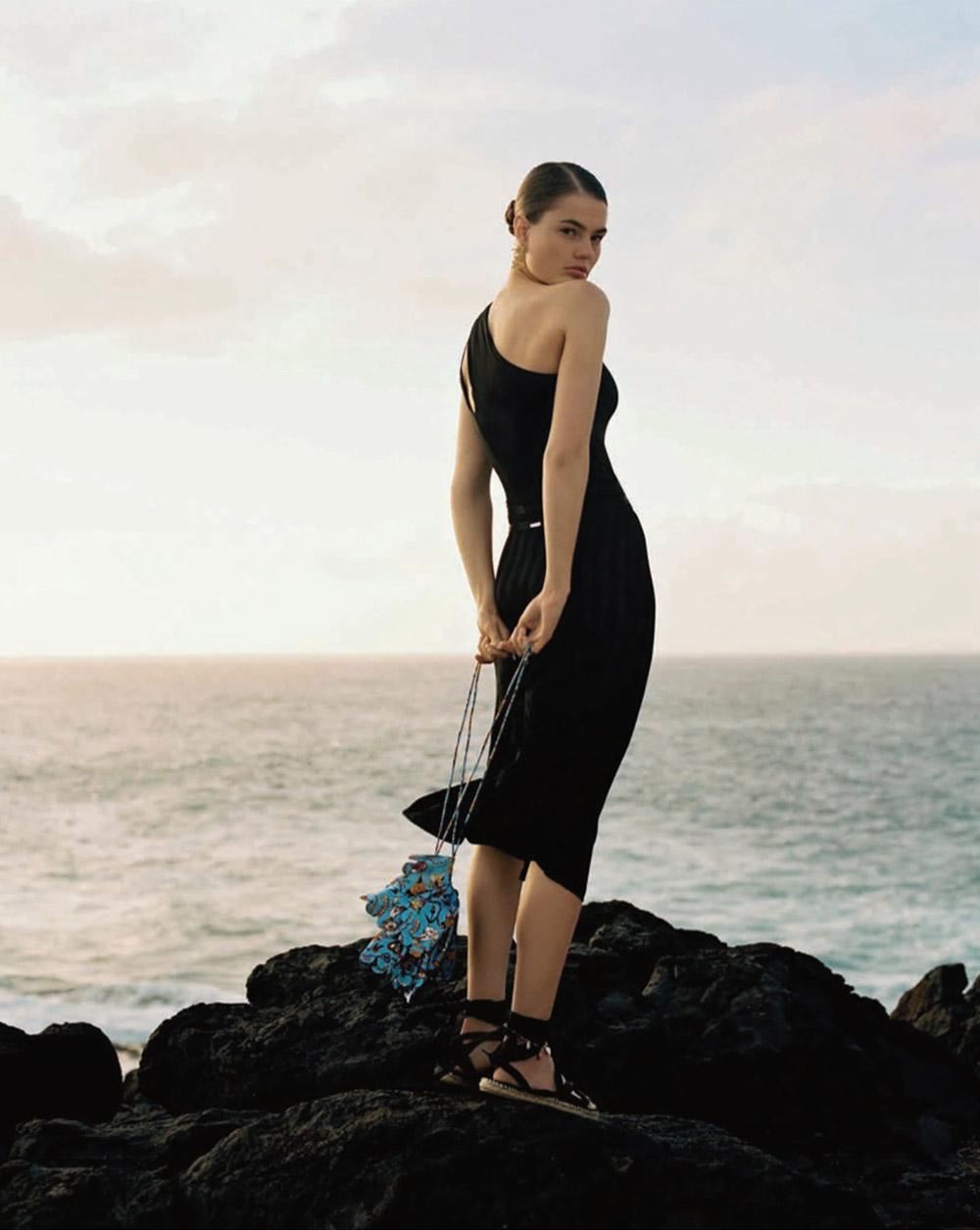 Myrthe Bolt by Anya Holdstock for Vogue Spain June 2020