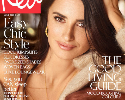 Penélope Cruz covers Red Magazine UK June 2020 by Nico Bustos