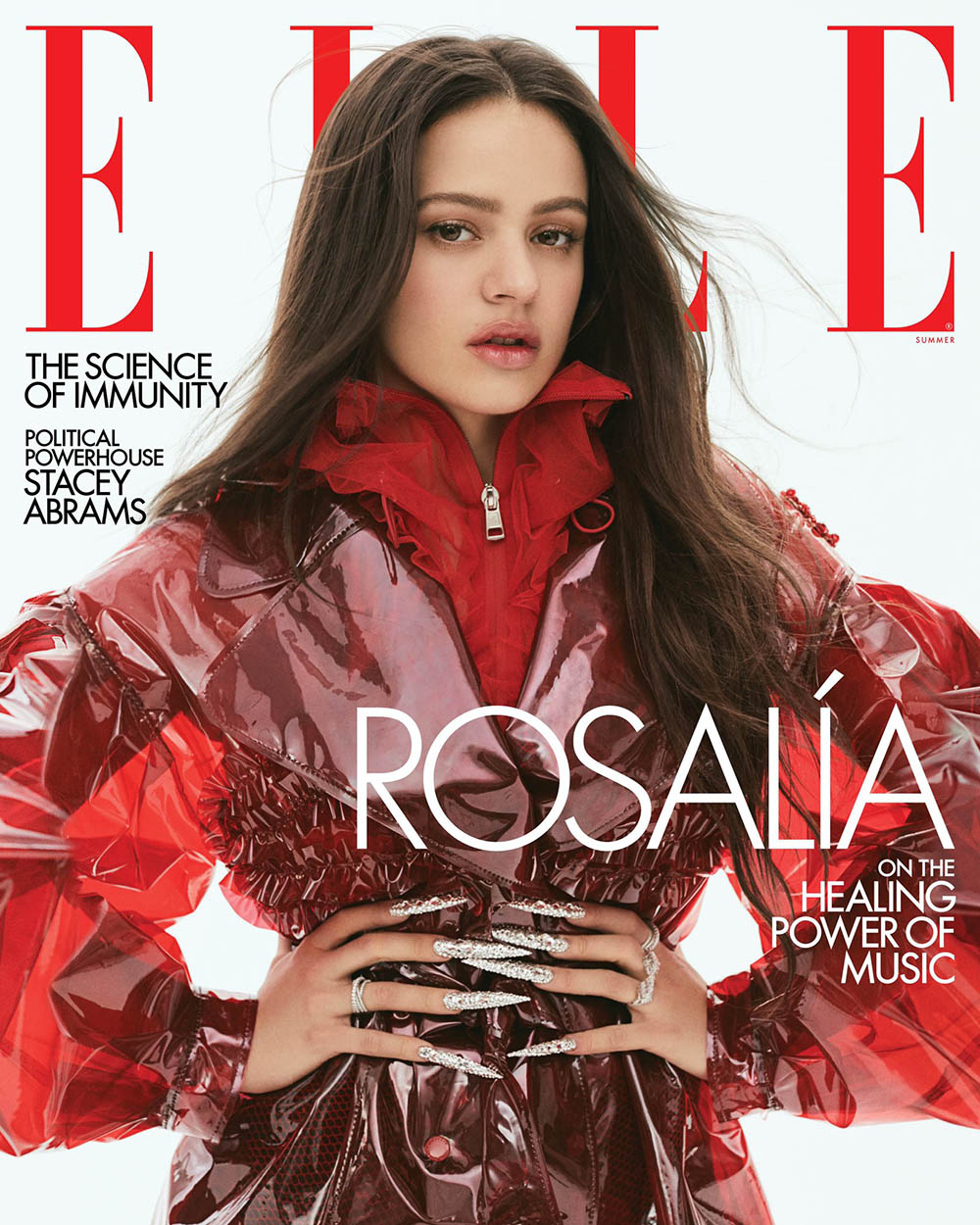 Rosalía covers Elle US Summer 2020 by Zoey Grossman
