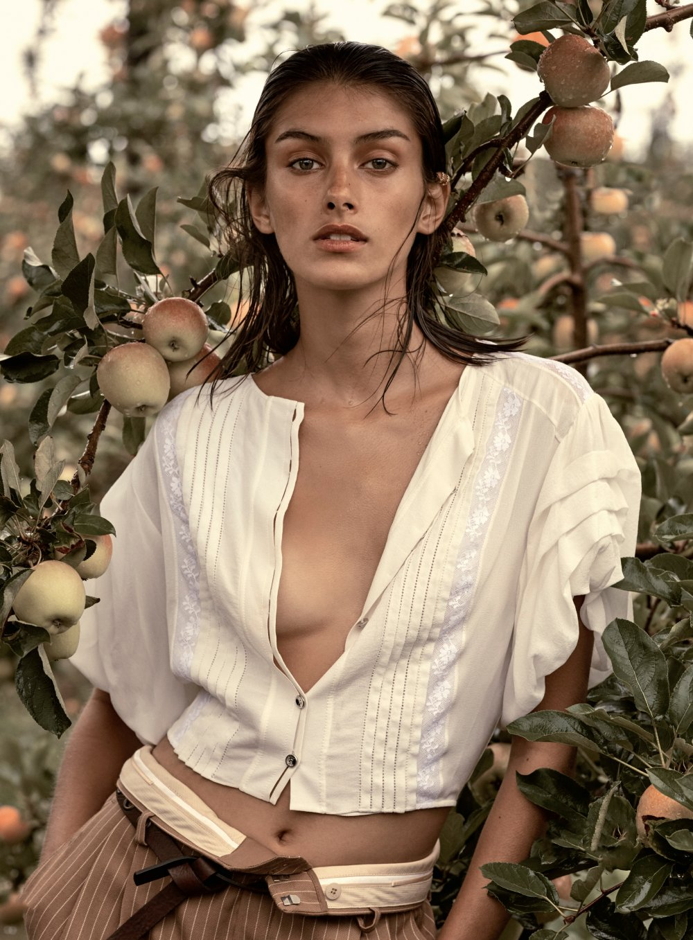 Rossana Latallada by Nicole Bentley for Elle France June 5th, 2020