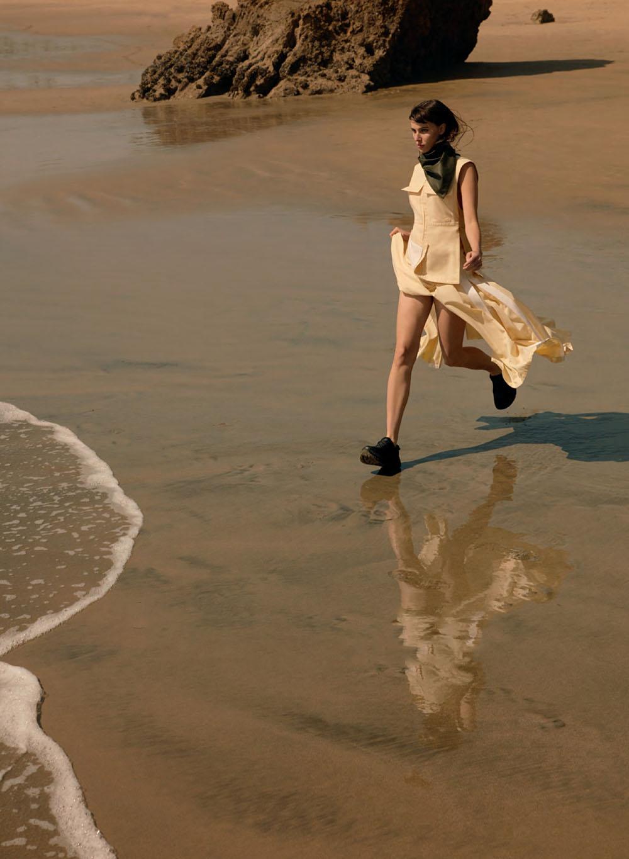 Ruby Aldridge by Greg Swales for Elle Canada June 2020