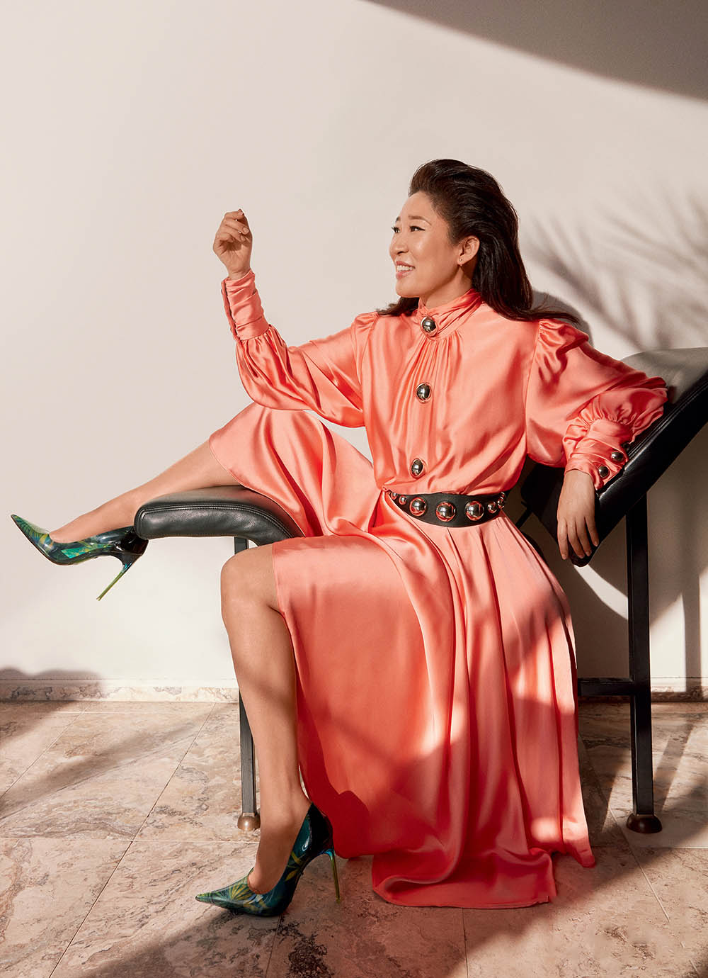Sandra Oh covers Elle Canada June 2020 by Greg Swales