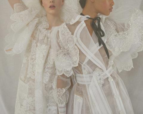 ''Sisterly Seraphim'' by Erik Madigan Heck for Harper's Bazaar UK June 2020