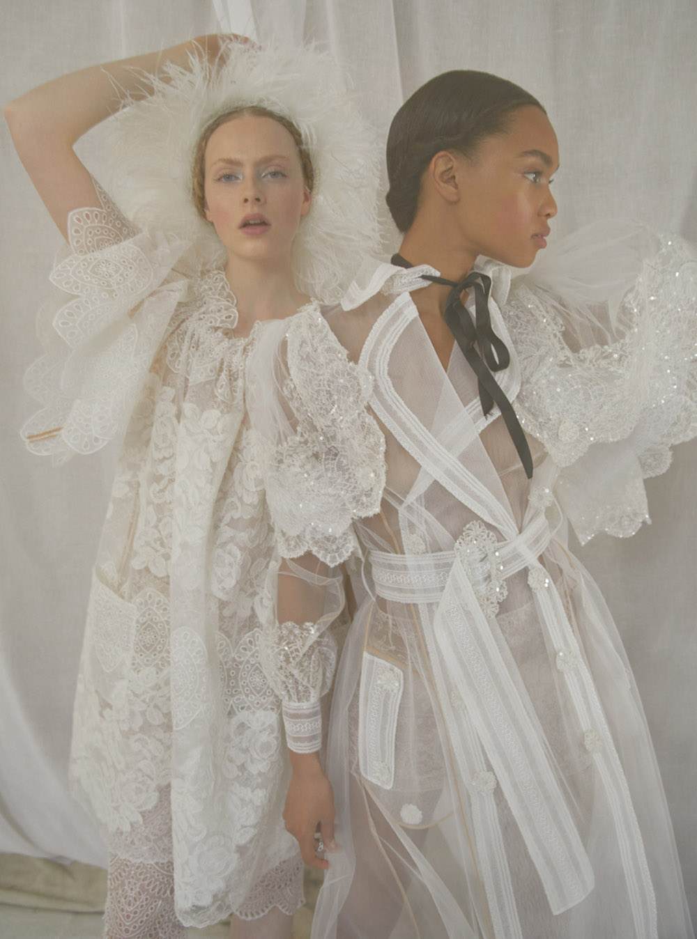 ''Sisterly Seraphim'' by Erik Madigan Heck for Harper's Bazaar UK June 2020