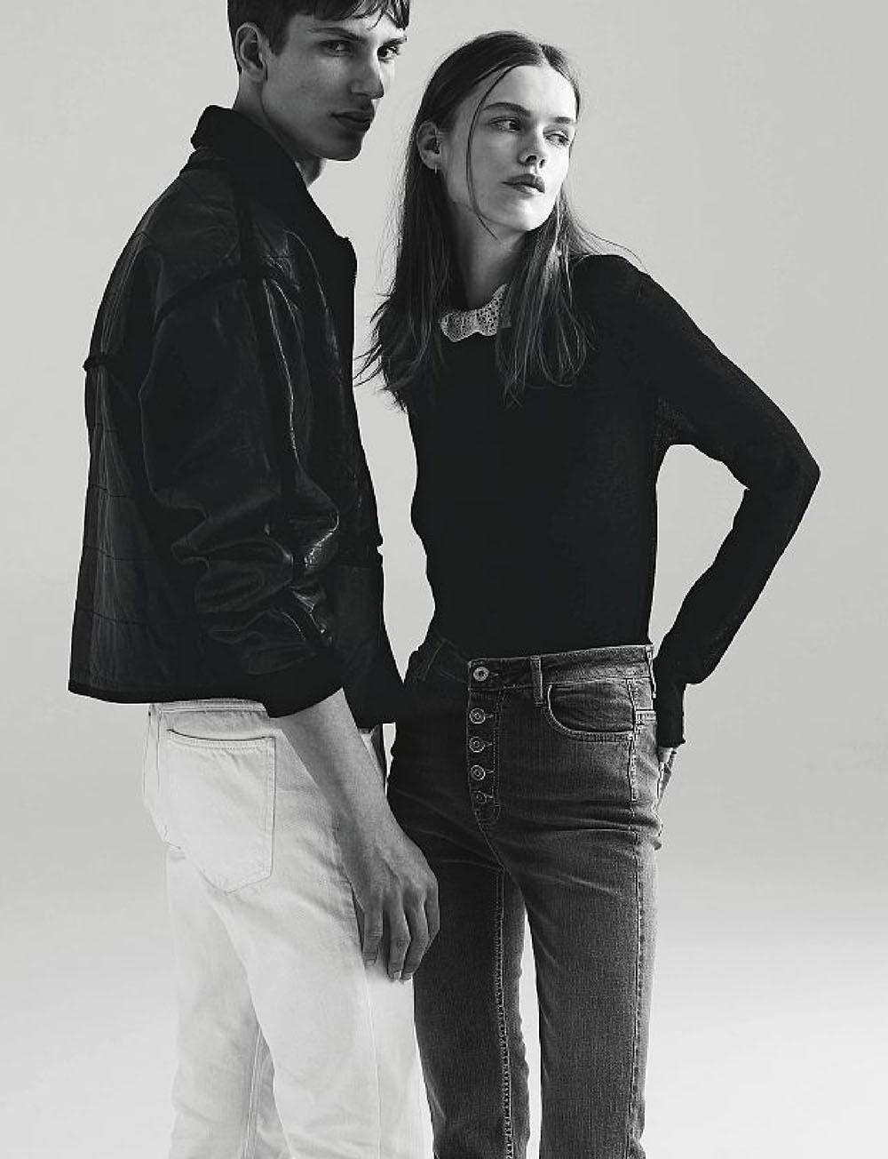 Stina Rapp Wastenson and Vilhelm Jakobsson by Tomas Falmer for Amica Magazine June 2020