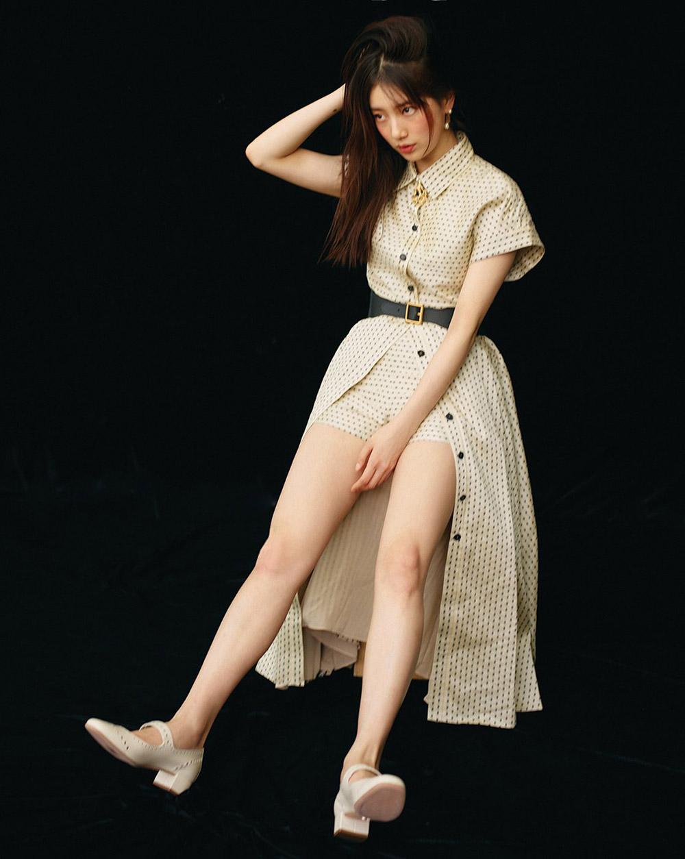Suzy covers Vogue Korea June 2020 by Hyea W. Kang