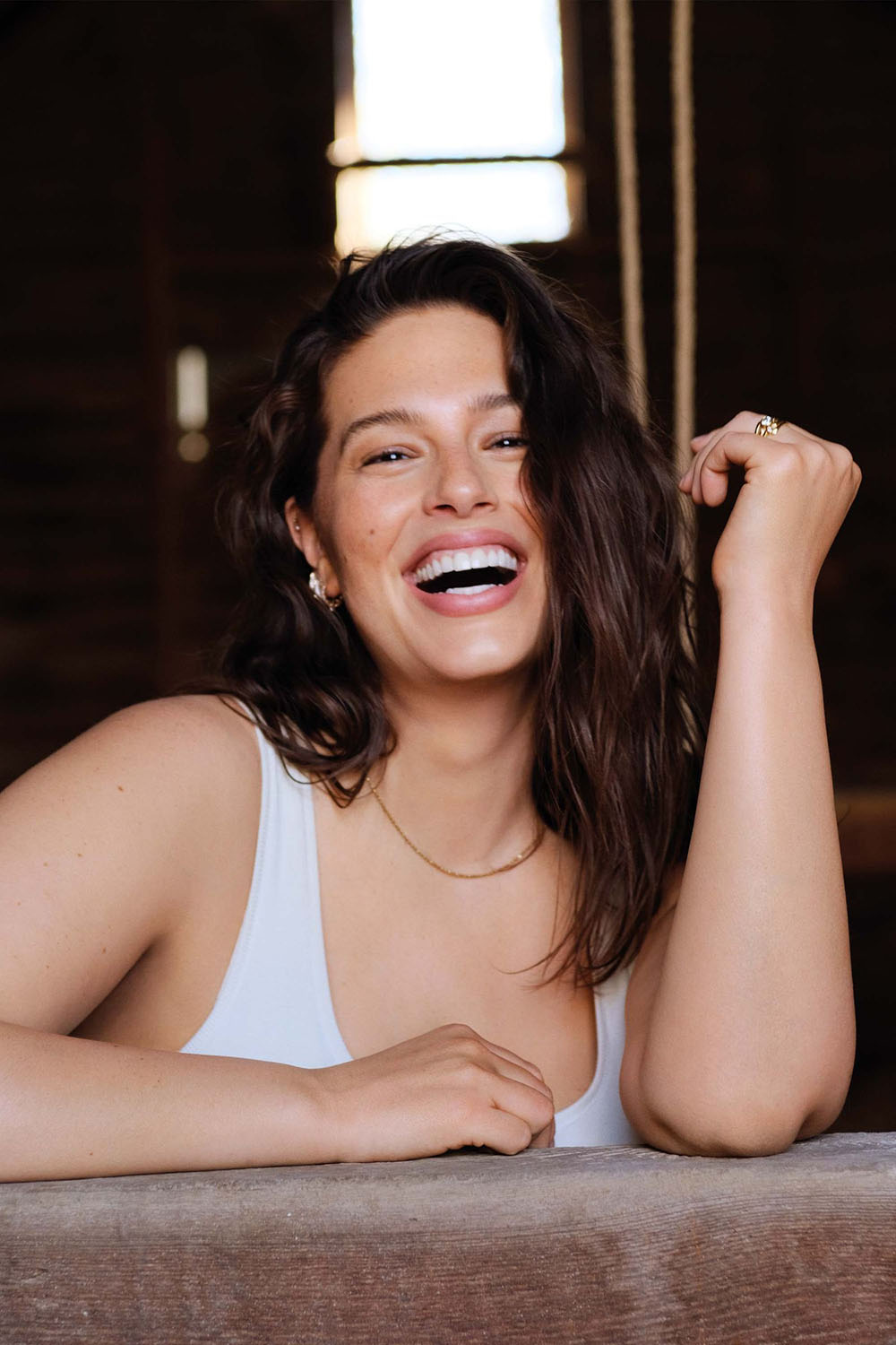 Ashley Graham covers Harper's Bazaar UK July 2020 by Justin Ervin