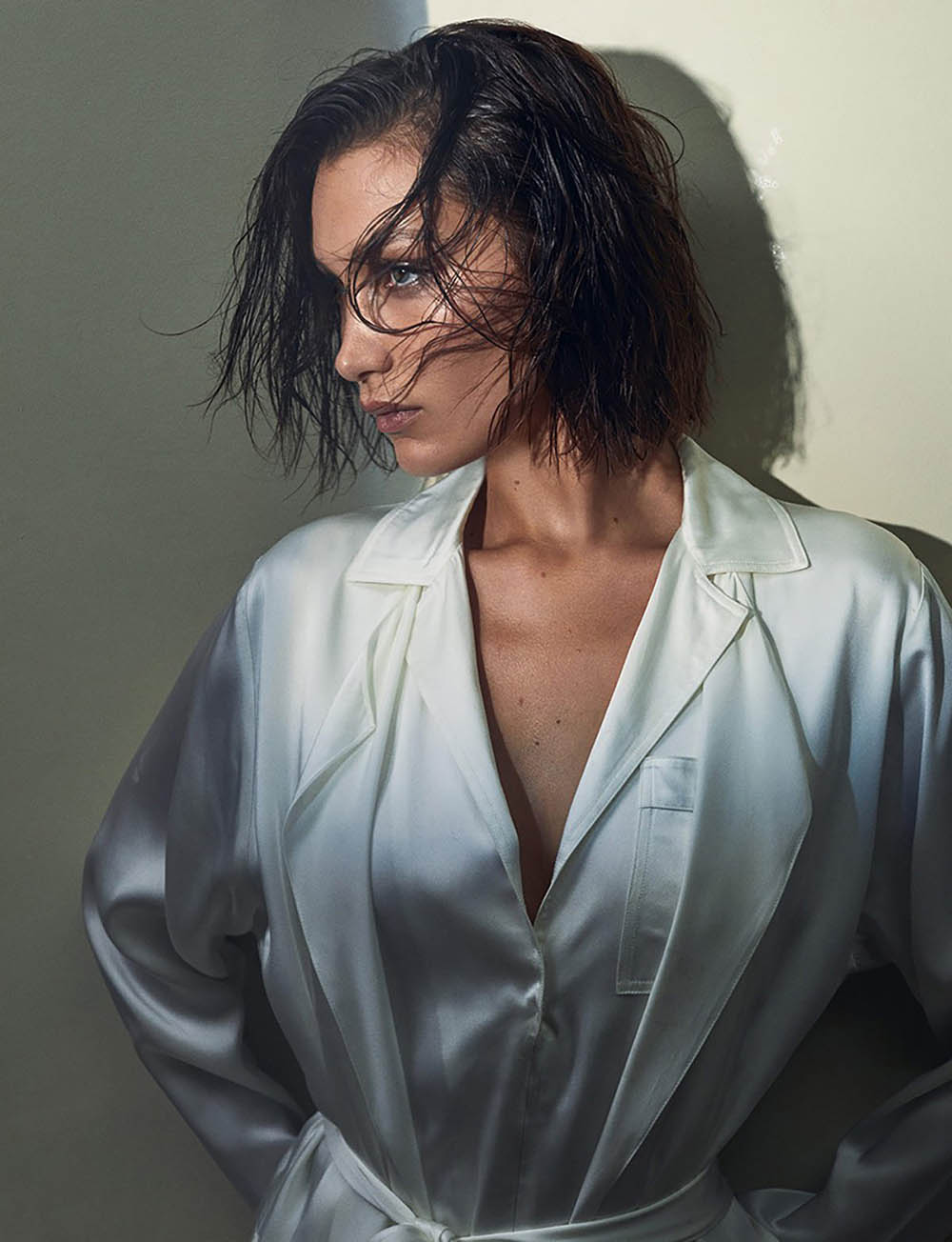 Bella Hadid covers Vogue Hong Kong February 2020 by Zoey Grossman