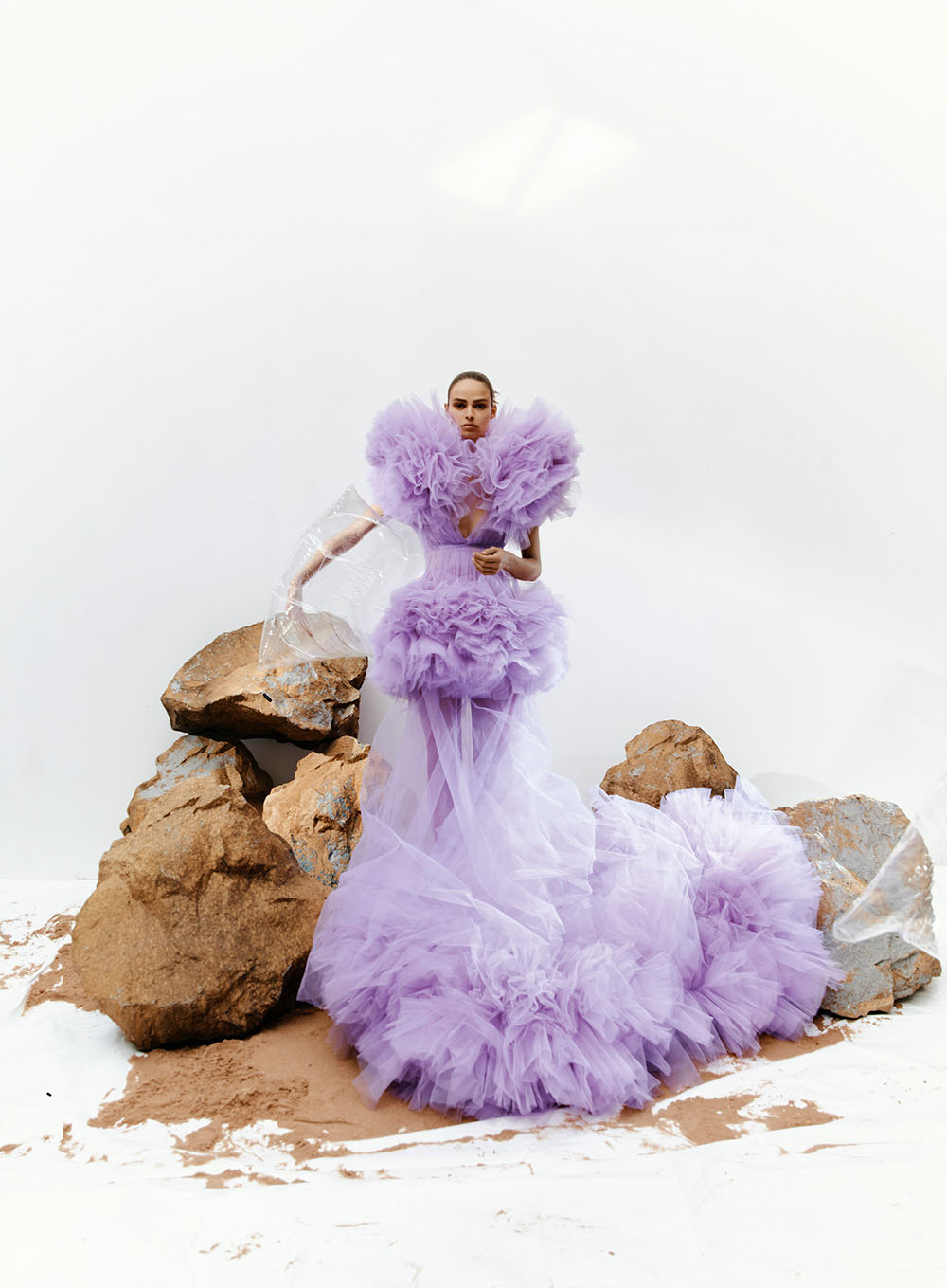Birgit Kos covers Vogue Turkey December 2019 January 2020 by Agnes Lloyd-Platt