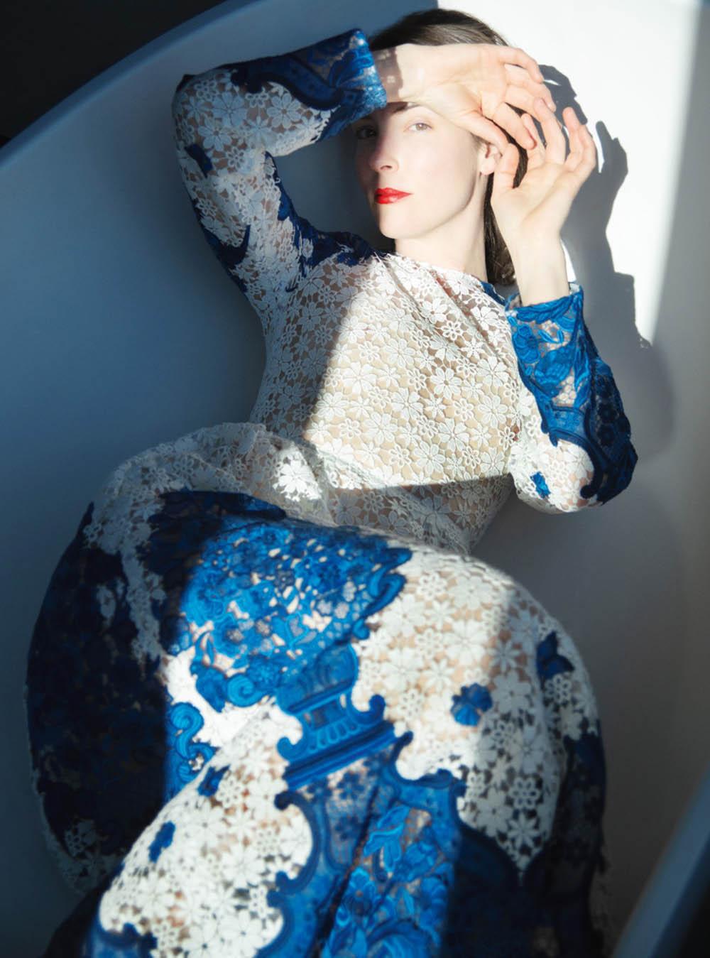 Brianna Killion Heck by Erik Madigan Heck for Harper's Bazaar UK July 2020