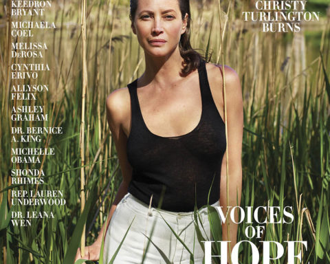 Christy Turlington covers Harper's Bazaar US Summer 2020 by Mario Sorrenti