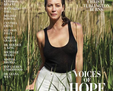 Christy Turlington covers Harper's Bazaar US Summer 2020 by Mario Sorrenti