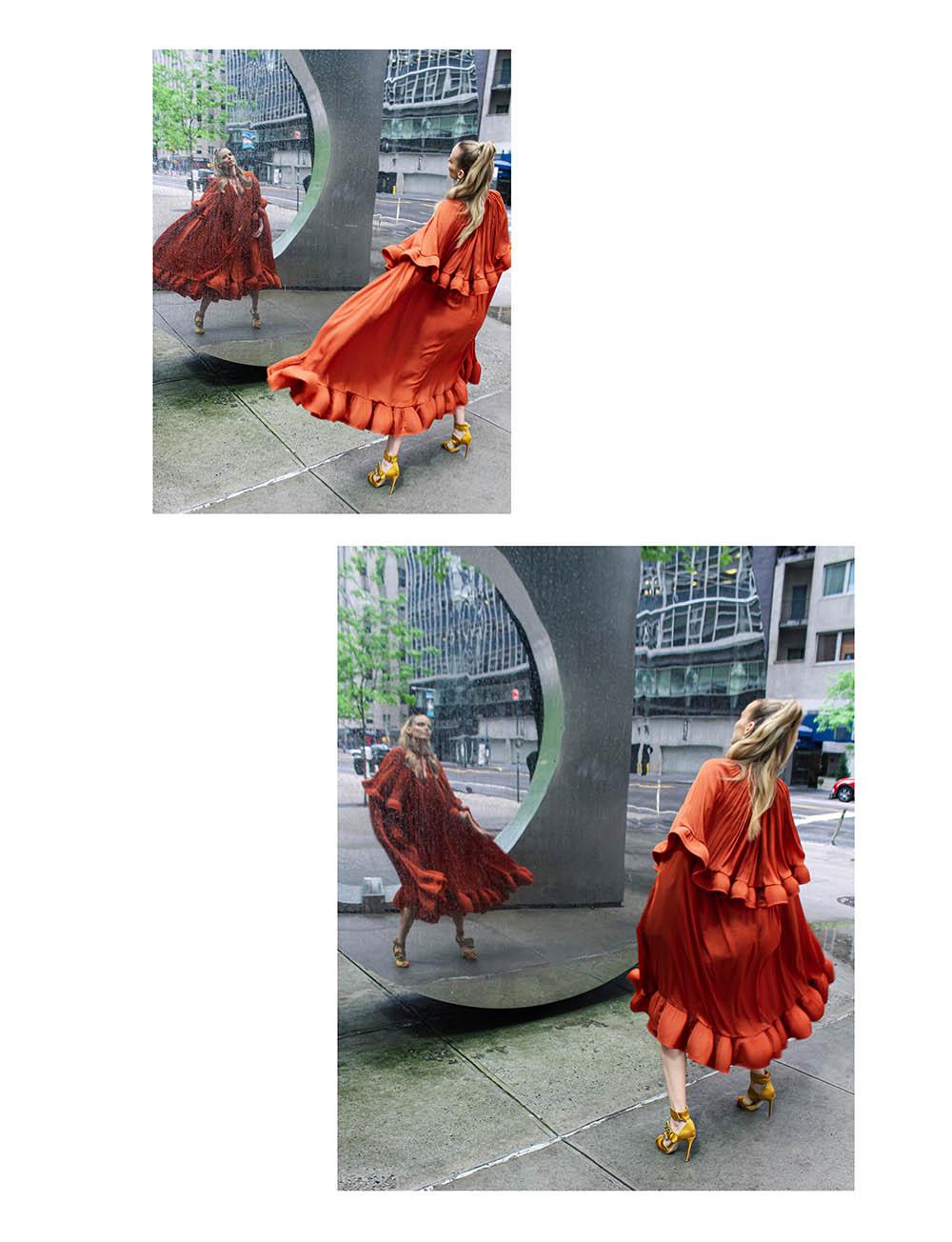Elza Matiz by Fernando Diaz for L'Officiel Singapore July 2020