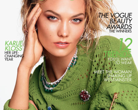 Karlie Kloss covers British Vogue August 2019 by Steven Meisel