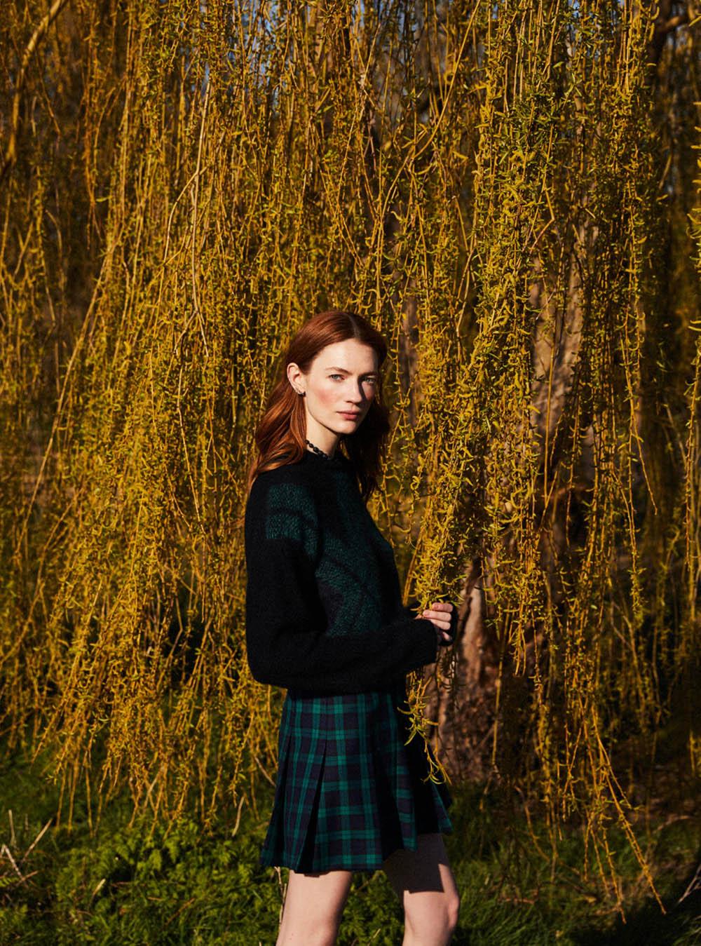 Kristin Zakala by Josh Shinner for Harper's Bazaar UK July 2020