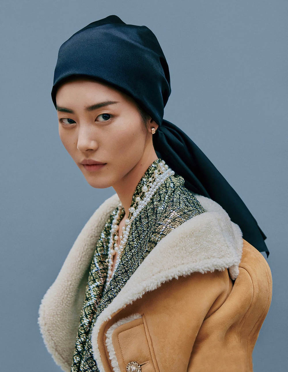 Liu Wen by Yu Cong for Vogue China July 2020