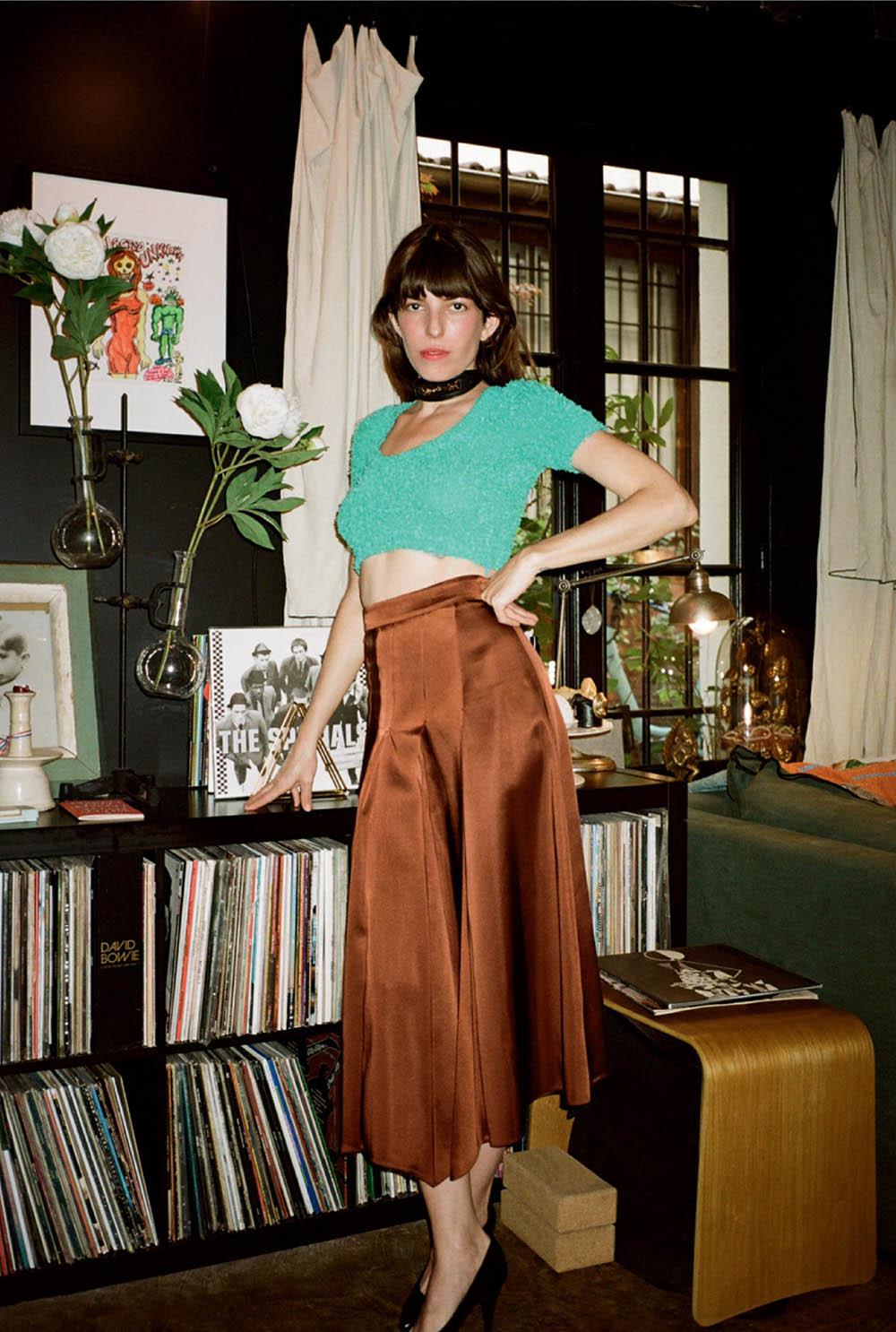 Lou Doillon covers Vogue Russia July 2020 by Pierre-Ange Carlotti